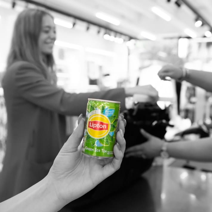 Lipton Ice Tea Green chez Vero Moda et Sneakershops